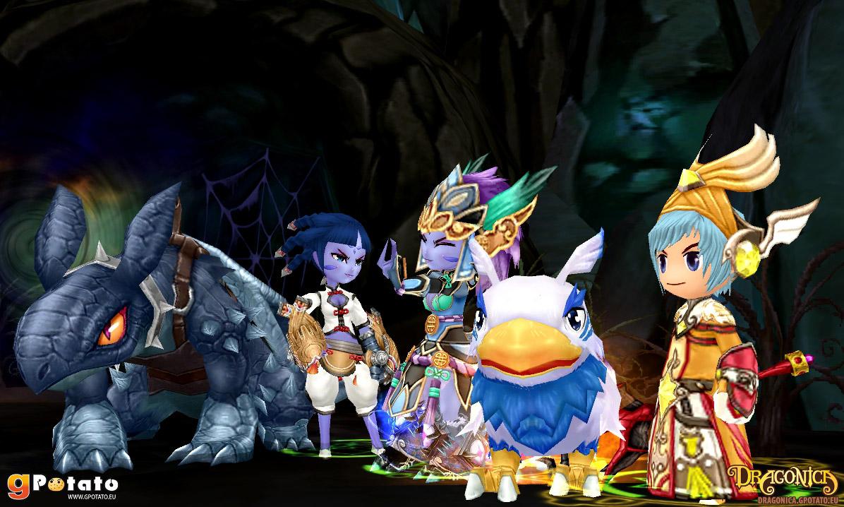 dragon saga pet