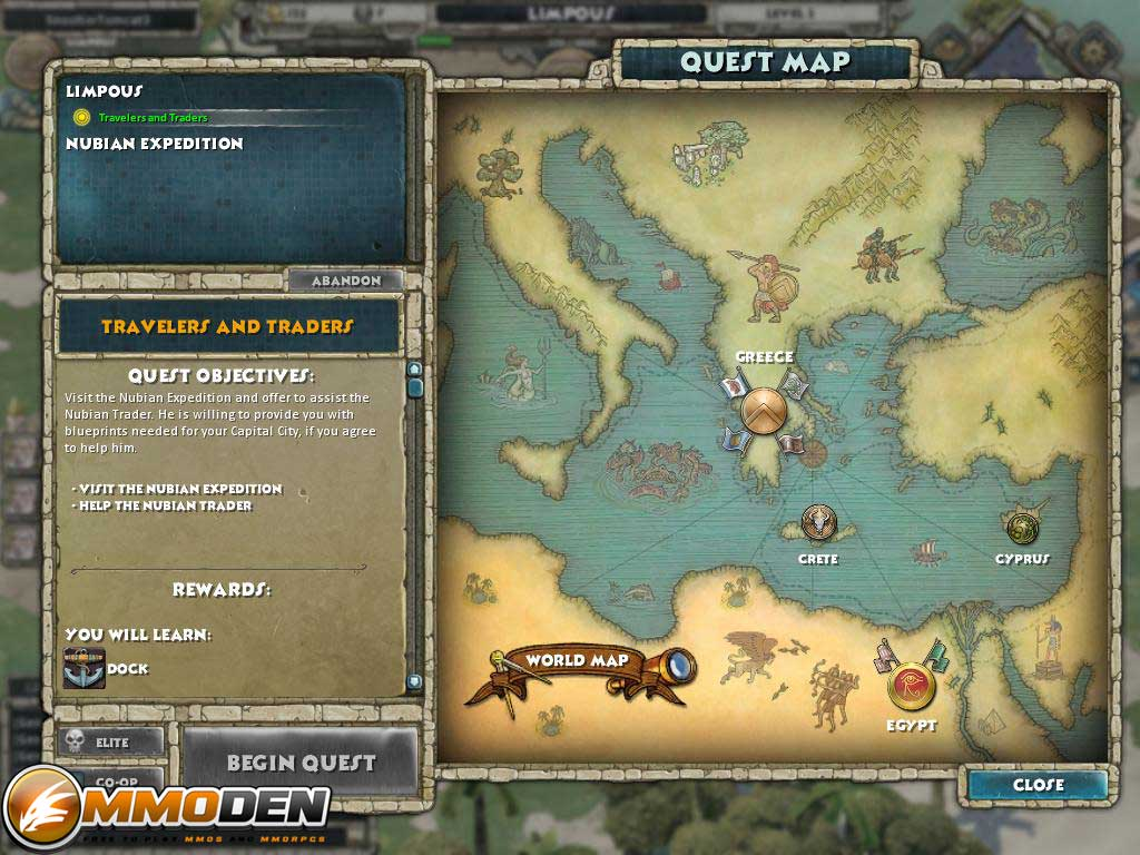 Age Of Empires Online Review News Videos Walkthroughs MMODen - Map of egypt online
