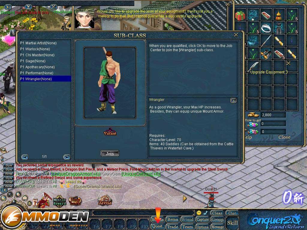 conquer2.0 online