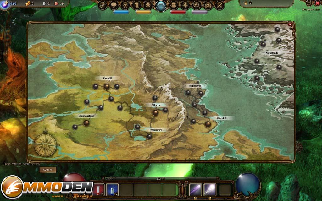 Drakensang Online Map Free To Play