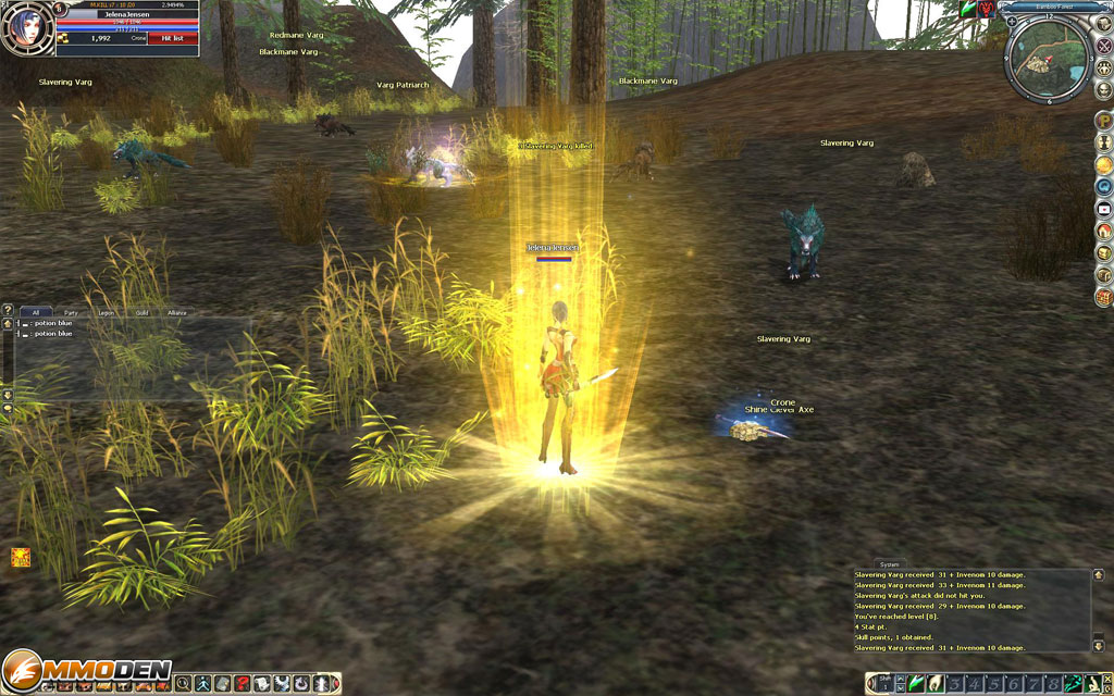 online level up games