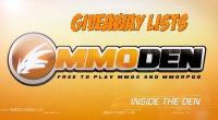 Free MMORPG June 10th 2013 YouTube Giveaway Winner & Full List