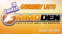 Free MMORPG October 2013 Twitch Monthly Giveaway Winners & Full List