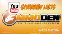Free MMORPG August 12th 2013 YouTube Giveaway Winner & Full List