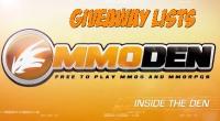 Free MMORPG June 17th 2013 YouTube Giveaway Winner & Full List
