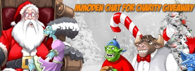 MMODen Live Streaming and Chat for Charity this Holiday Season